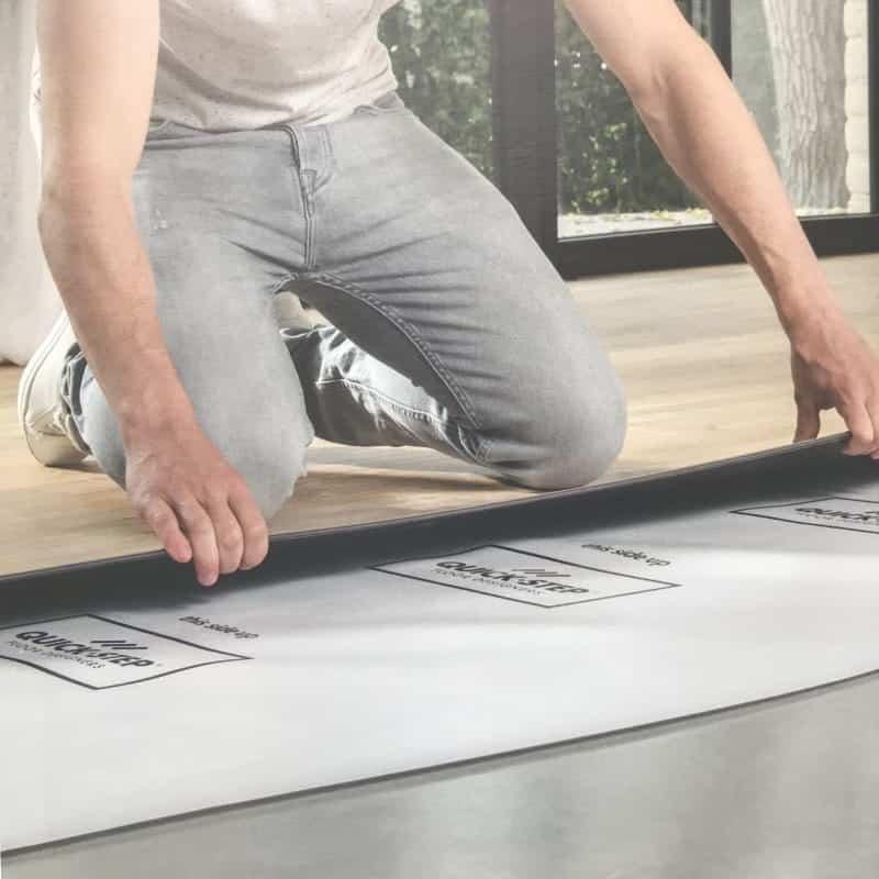 quick-step vinyl fitting