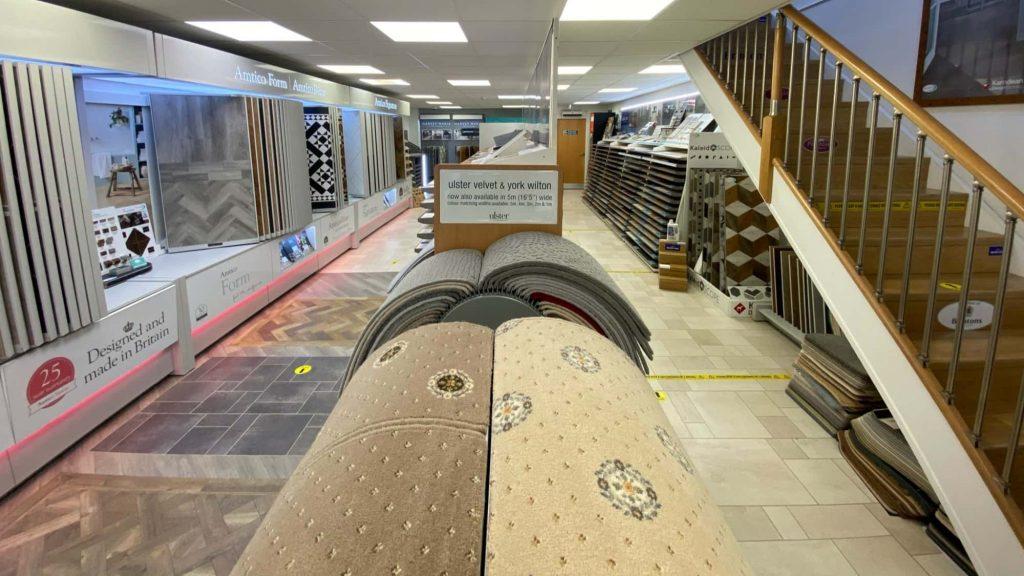Floormaster Carpet Showroom in Barnsley